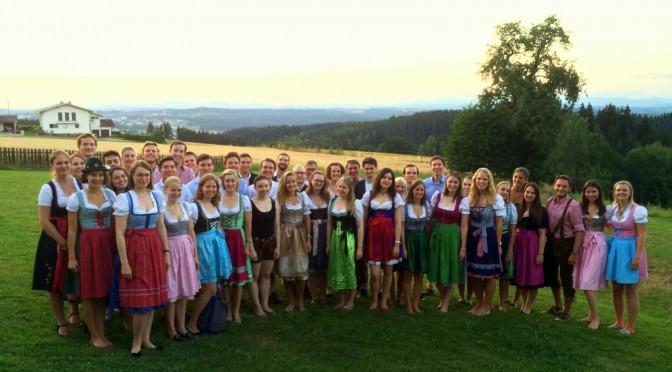 Visita de nuestros amigos de Rotaract Club de Passau Alemania