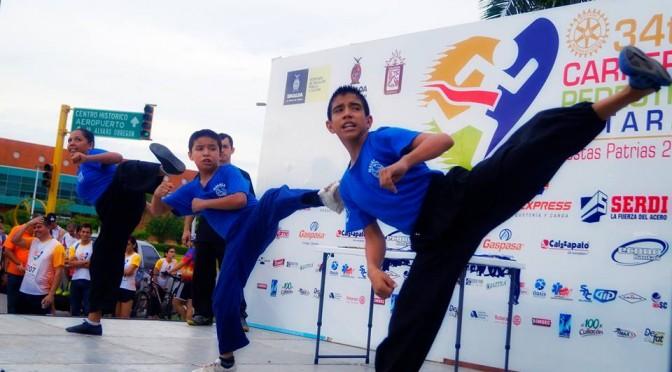 "Exitosa 34ta carrera pedestre Rotaria ""Fiestas Patrias"""