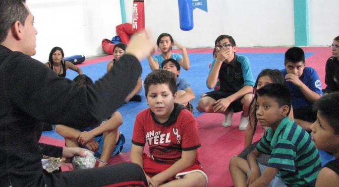 Foro cuatro TV en Malala Academia Hermosillo